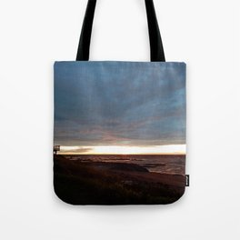 The View Under the Storm Tote Bag
