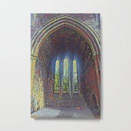 Gaelic Arches Part 1 Metal Print