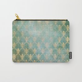 Damask Vintage Pattern 02 Carry-All Pouch
