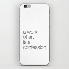 work of art iPhone & iPod Skin