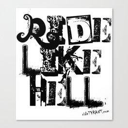 "TYRANT ""Ride Ransom"" Canvas Print"