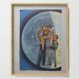 Carry Me to the Moon Serving Tray