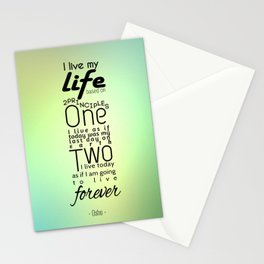 Typography Quote Stationery Cards