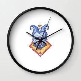 Cara Severa Rey Cuentos Hadas Wall Clock