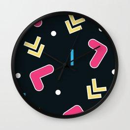 Geometric Calendar - Day 48 Wall Clock