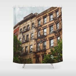 Greenwich Village Shower Curtain