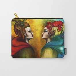 The two Halves of the World Carry-All Pouch