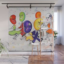 Jitterbuggin' Jellybeans Wall Mural