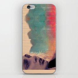 Blue sense8 iPhone Skin