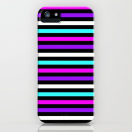 Unicorn Stripes iPhone Case