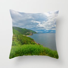 Cheticamp Coast Throw Pillow