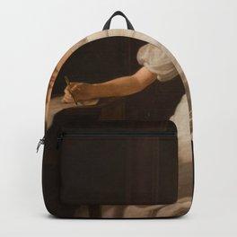 Constantin Hansen - Kunstnerens søster Alvilde Backpack
