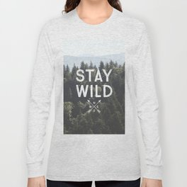 Stay Wild - Mountain Pines Long Sleeve T-shirt