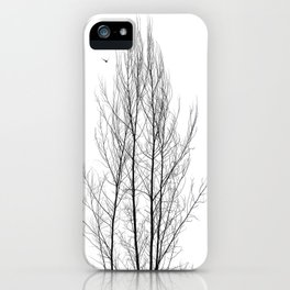 Naked Tree iPhone Case
