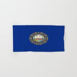 flag new hampshire,america,us,granite,new england, new hampshirite,Concord,keene,Nashua,portsmouth Hand & Bath Towel