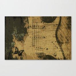Stringed Serenity Canvas Print
