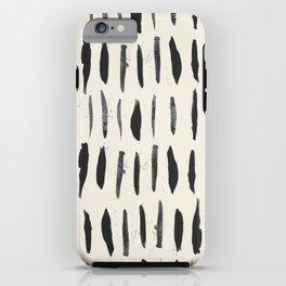 Three / Cream iPhone Case
