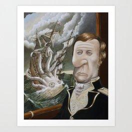 Alexander's Leviathan Art Print