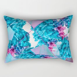 INK Cld Neon Rectangular Pillow