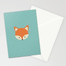 Fox Minimal Illustration Stationery Cards