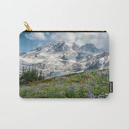 Scenic Landscape Art, Mt. Rainier, Mt. Rainier National Park, Paradise Carry-All Pouch