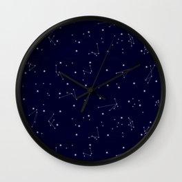Astres / Stars / Luminary / Night Sky / Stars starry sky Wall Clock