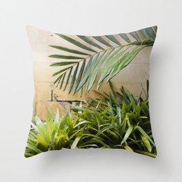 Palms & Bromeliads  |  The Plant Life Throw Pillow