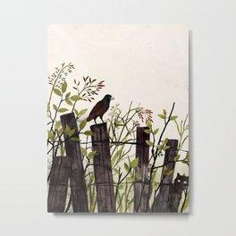 Art of Bird Watching Metal Print