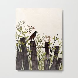 Art of Bird Watching Metal Print