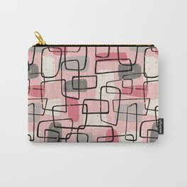 Atomic MCM Grid in Pink Parlor Carry-All Pouch