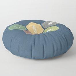 Economics Floor Pillow