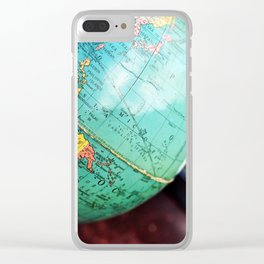 See the whole world! Clear iPhone Case
