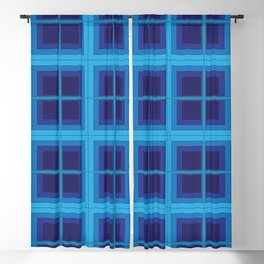 The Squares Are Stacked Against Us Blackout Curtain