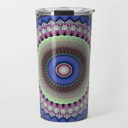 Girly Mandala Travel Mug