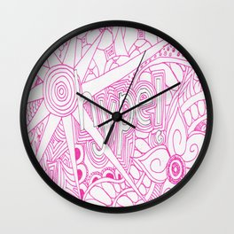 Hype! Wall Clock