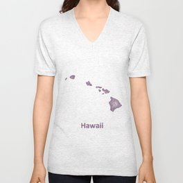 Hawaii Unisex V-Neck
