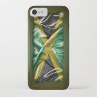 jamaica iPhone & iPod Cases featuring Jamaica flag by DesignAstur