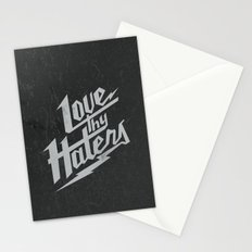 Love Thy Haters - Black Stationery Cards