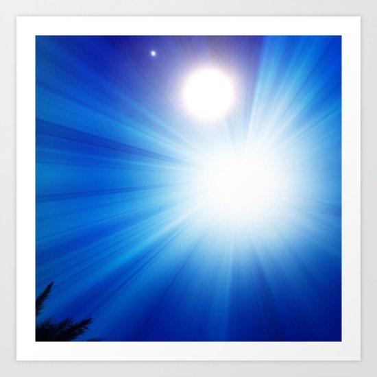 don't stare into the sun Art Print