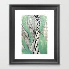 Vintage pattern Framed Art Print