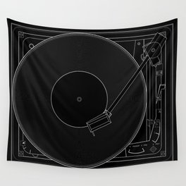 Turntable Wall Tapestry