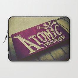 Atomic Records Vintage Sign Laptop Sleeve