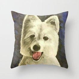Sammy! Throw Pillow