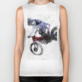 Nose Stand - Motocross Move Biker Tank