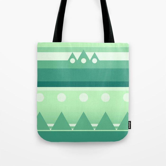 Calm & Green  Tote Bag