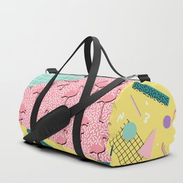 Dreaming 80s #society6 #decor #buyart Duffle Bag