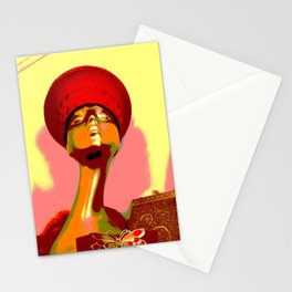 Vintage: The Zulu Hat Stationery Cards