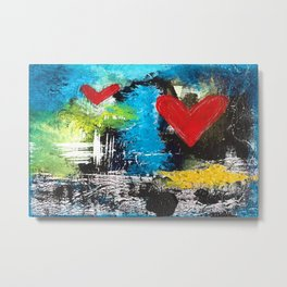 MIDNIGHT LOVE Metal Print