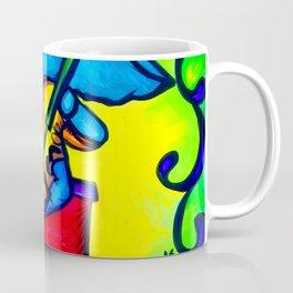 Radiant Guitar Elephant Coffee Mug