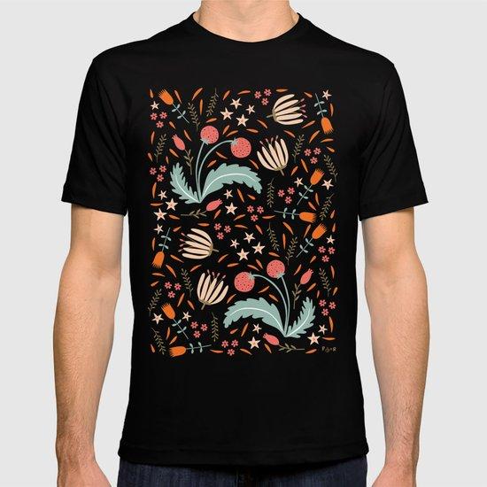 Floral Fusion T-shirt